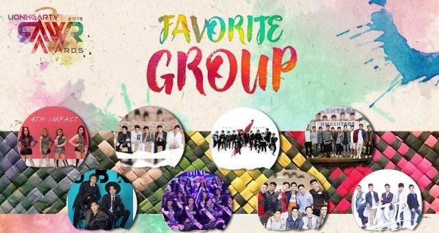 RAWR Awards Favorite Group Award