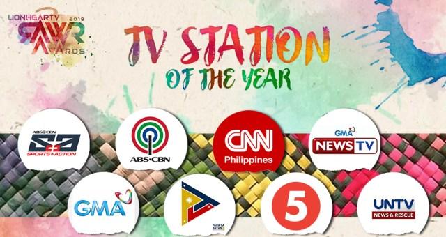 RAWR Awards TV Station of the Year Award