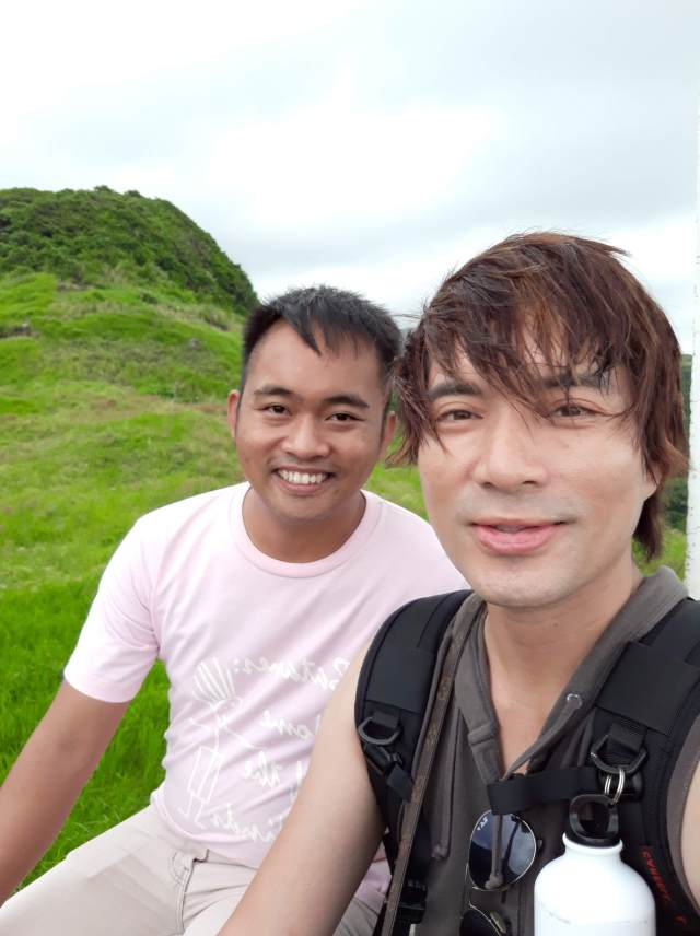 With Councilor JB Neyala on top of an Idjang in Sabtang, Batanes.
