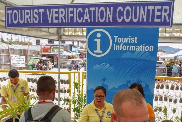 Boracay Tourist Verification Counter, Caticlan Jetty Port