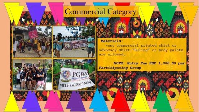 Boracay Ati-Atihan 2019 Commercial Category
