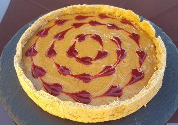 tarte cheesecake coeurs 2