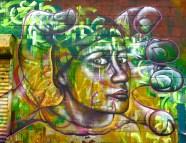 """Brooklyn: """"Four-Face"""" detail shot"""