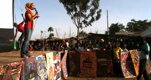 Closing ceremony: preaching peace