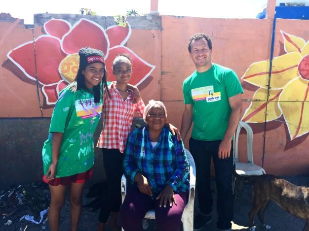 visiting our participants' families