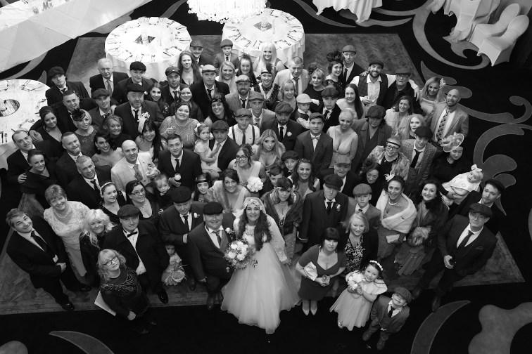 Wedding Group Shot, Wedding in a week of Joe Laws