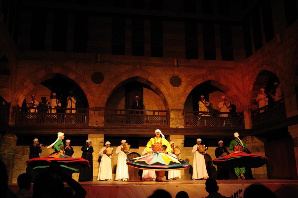 Al Tannoura Show Wekalet El Ghouri Cairo, Egypt
