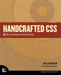 Handcrafted CSS Book Cover
