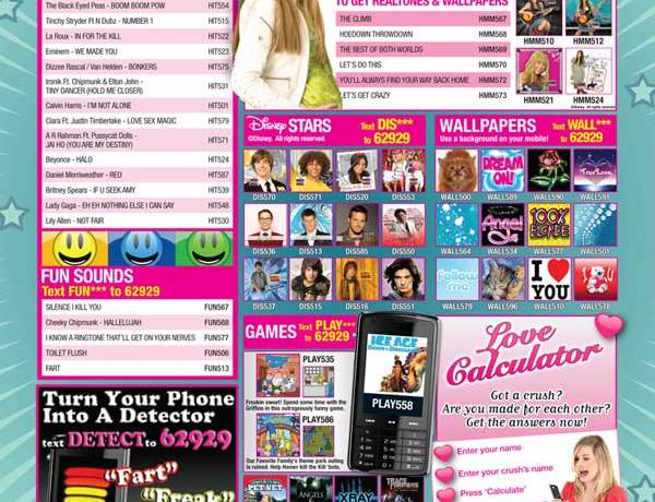Sugar Print Advert – August 2009