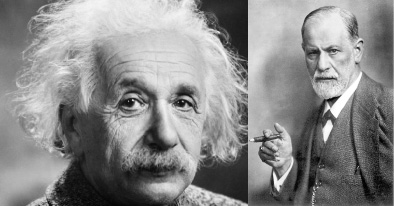 "Einstein and Freud Discuss: ""How Can We Stop War?"""