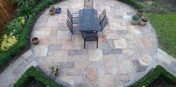 nashville decorative concrete patios