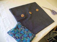 Amanda's finished purse & cushion