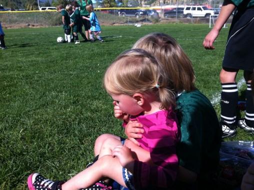 Soccer break