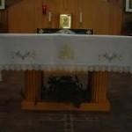 white altar