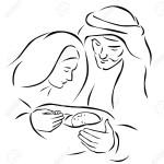 Jesus,Mary and Joseph