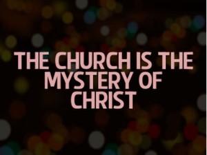 The Church as mystery