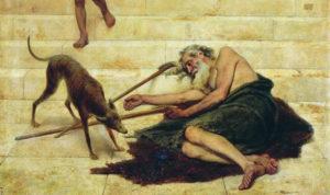 The poor lazarus