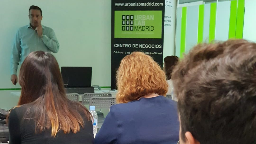 Presentación Urban Lab Madrid Tres - Joel Pinto Romero