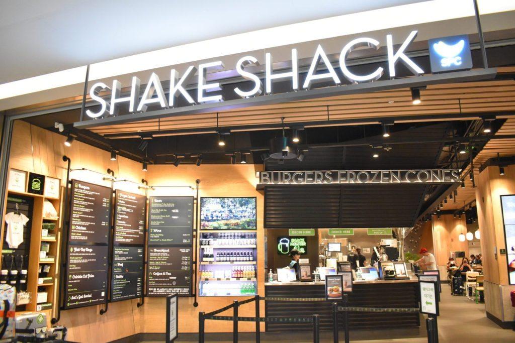 Shake Shack at Incheon Airport