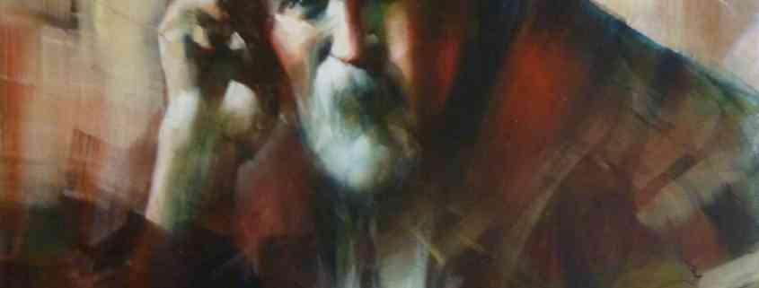 demain_j_arrette_d_etre_vieux huile sur toile de joel Tenzin, oil on canvas Joel Tenzin