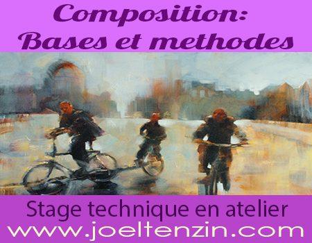 Stage composition à l'atelier joel Tenzin