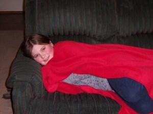Princess Monster snuggles