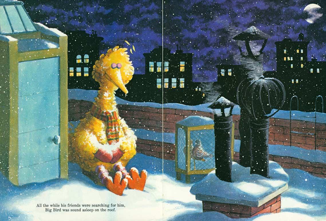 Christmas Eve On Sesame Street.Christmas Eve On Sesame Street Pages 40 41 Joe Mathieu