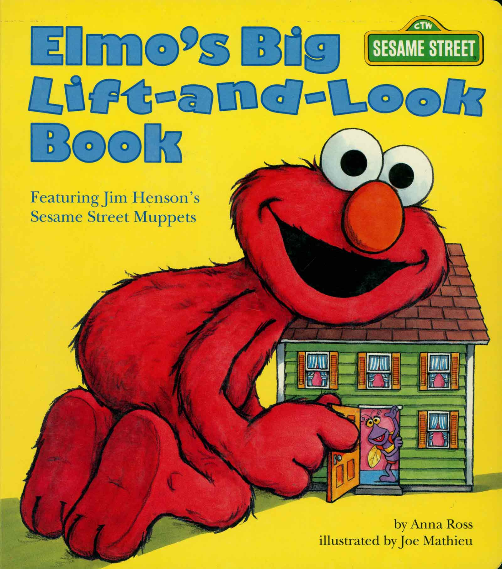 Elmo's Big Lift and Look Book Sesame Street