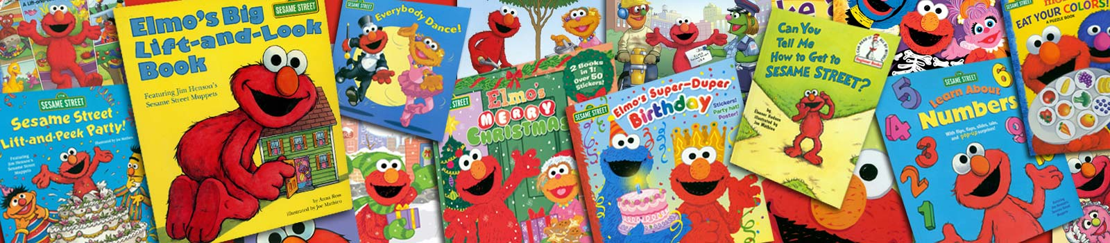 Joe Mathieu Books about Elmo