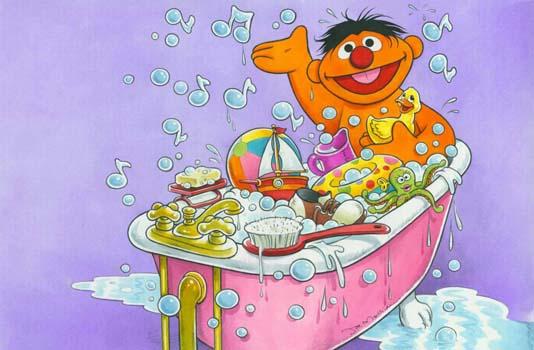 Rubber Duckie Sesame Street