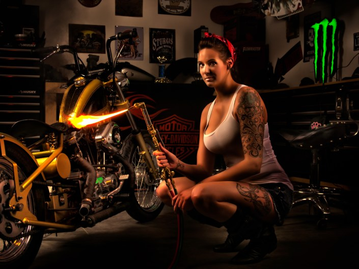 Custom Bike Shoot