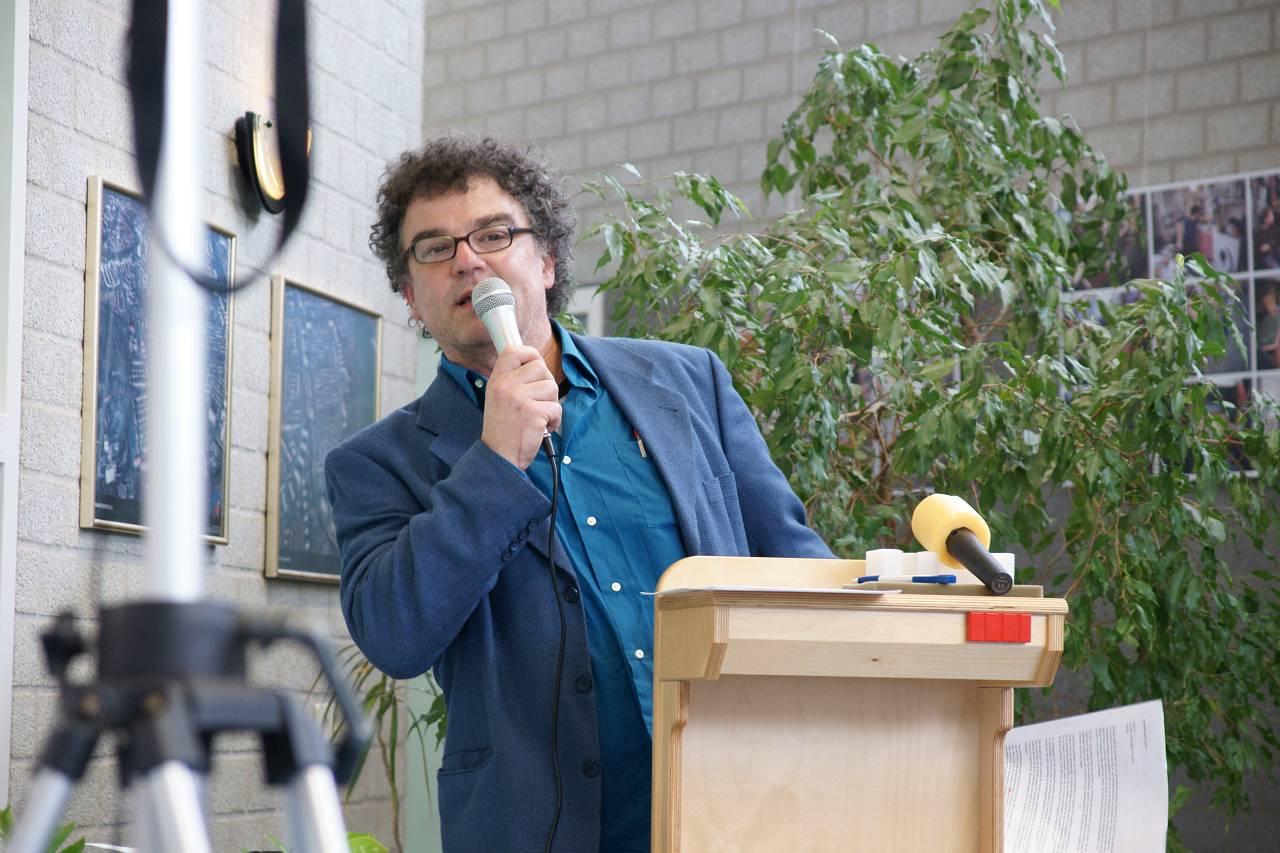 Eindredacteur Joep (foto Peter vd Wiel)