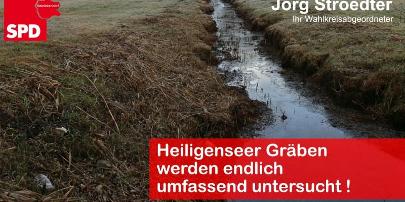 Heiligensee Gräben
