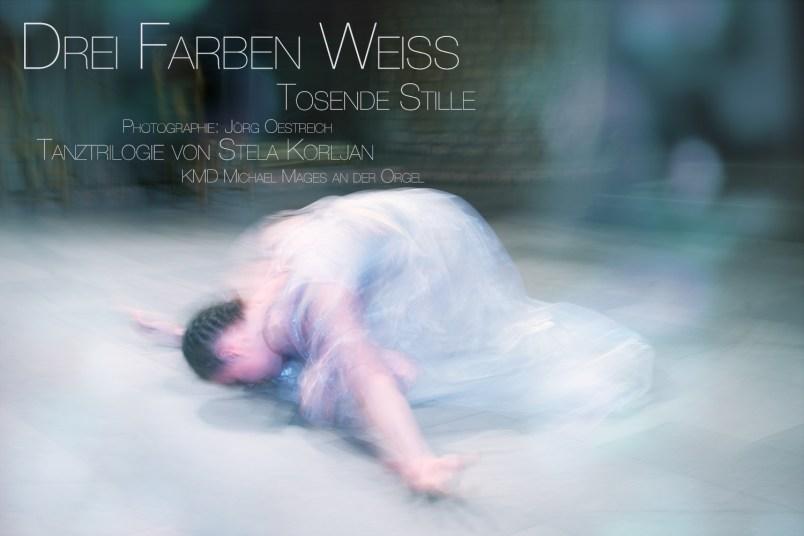 Drei Farben Weiss, Tanztrilogie von Stela Korljan Fotografie Jörg Oestreich Flensburg
