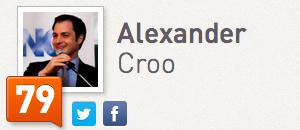 Alexander De Croo Klout