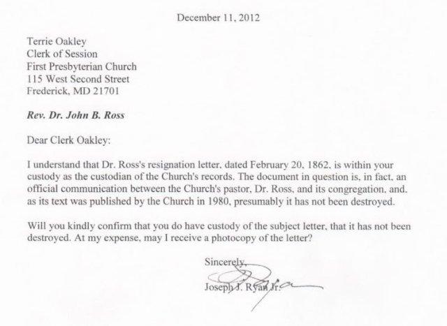 Did The Reverend Dr John B Ross Write