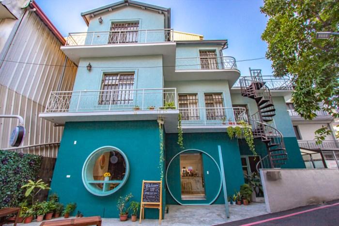 VIVRE CAFE琲癮咖啡,隱身巷弄裡的一抹TIFFANY藍,不限時咖啡館。