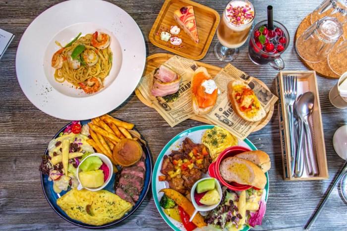 台中西屯,澎派早午餐~讓你吃好也吃飽!!隱身在中科商圈的美食-夏樂中科店。