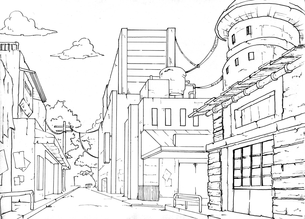 1 Point Perspective Resource Post