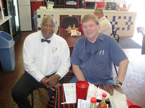 Rays World Famous Bar-B-Que - Joe Spake with Ray by joespake