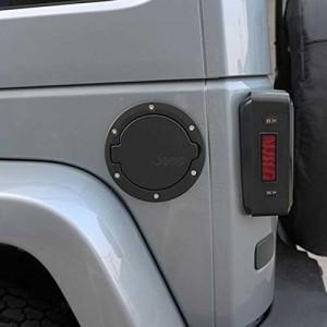 Gas door