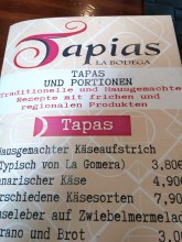 Tapias La Bodega