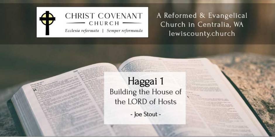 Joe Stout Sermon Haggai 1