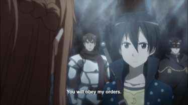 Asuna: Episode 5; facing down opposition and holding to her own plan on her own strength