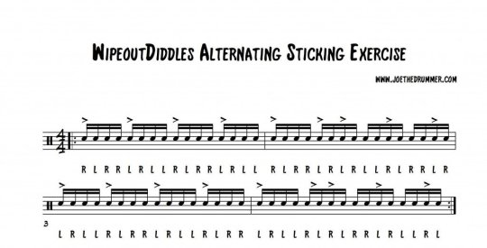 WipeoutDiddles Sticking Exercise