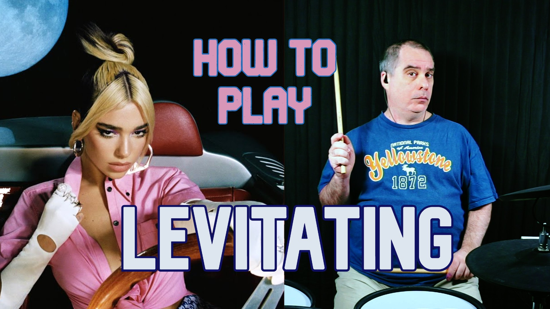 How To Play Dua Lipa's Levitating on drums