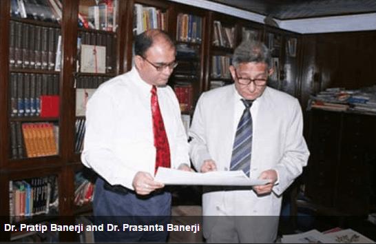 Drs Prasanta and Pratip Banerji