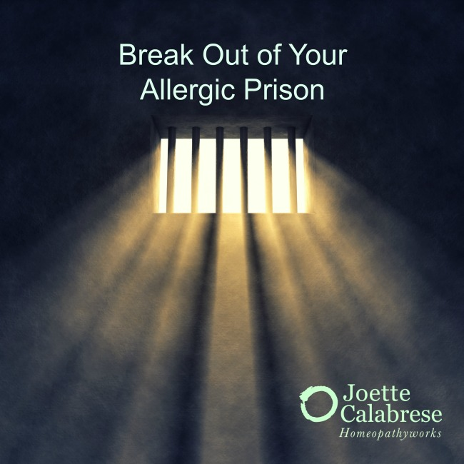 Break out of your Allergies Prison with Homeopathy