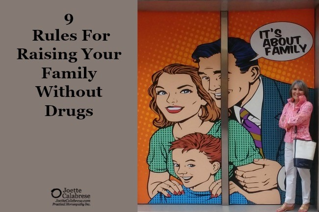 9 Rules for raising your family without drugs
