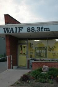 WAIF-FM's East Walnut Hills studios